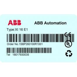 ABB PLC AC31 module ,XI 16 E1, New ABB in original package
