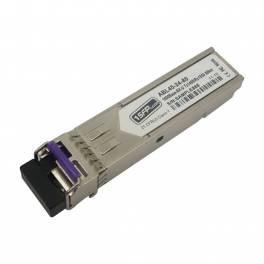 bidirectional one fiber BIDI fiber optic modules GLC-BX-U80 compatibility Cisco interchanger 1G SFP module